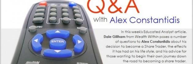 Q&A with Alex Constantidis