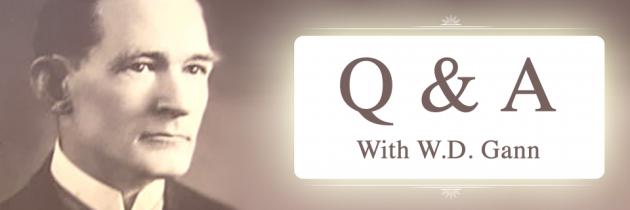 An Interview with W.D. Gann